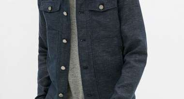 Velour Jacket with Pouch Pocket