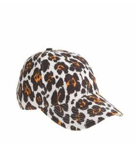 Leopard Print  Cap