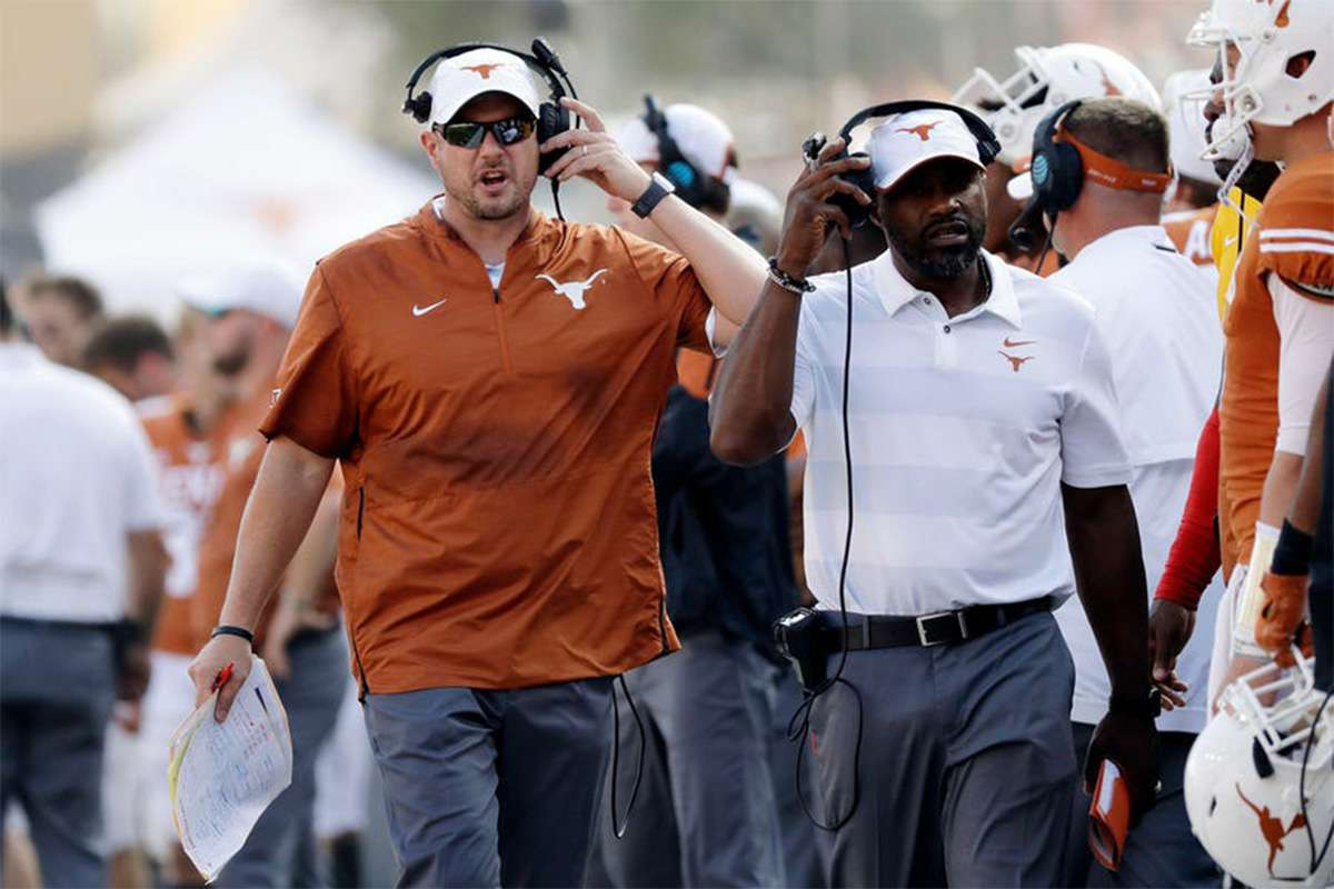 Texas coach Tom Herman on facing Georgia: 'Kirby (Smart) has that thing rolling'