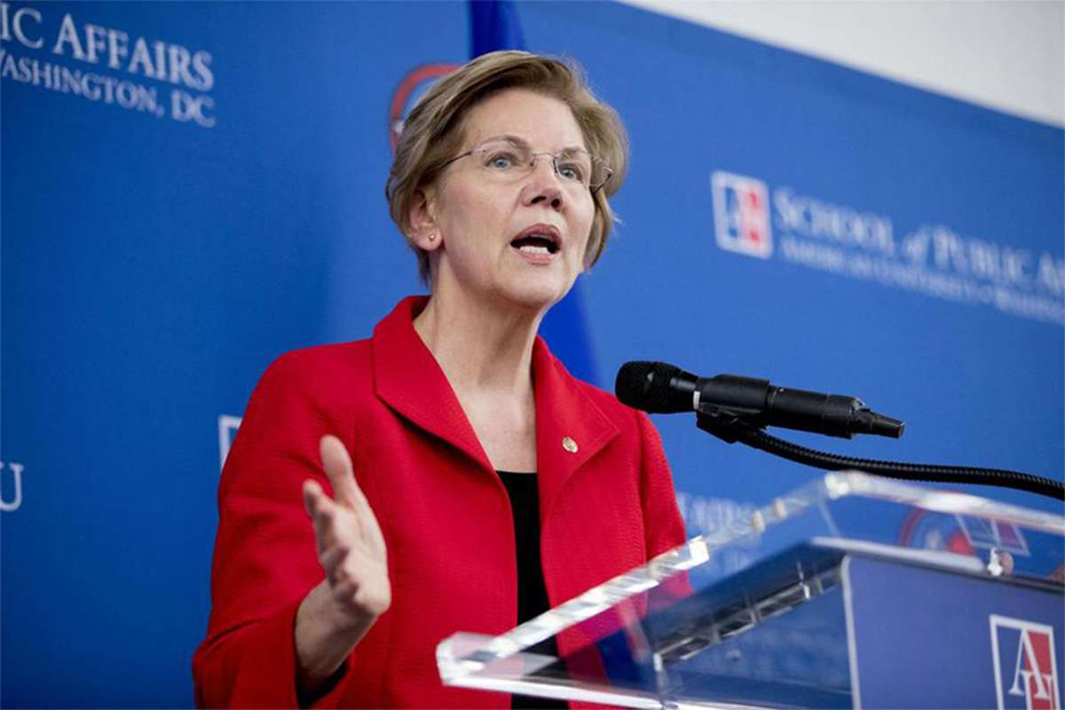 Elizabeth Warren Takes On Trump's Renegotiated NAFTA Dea