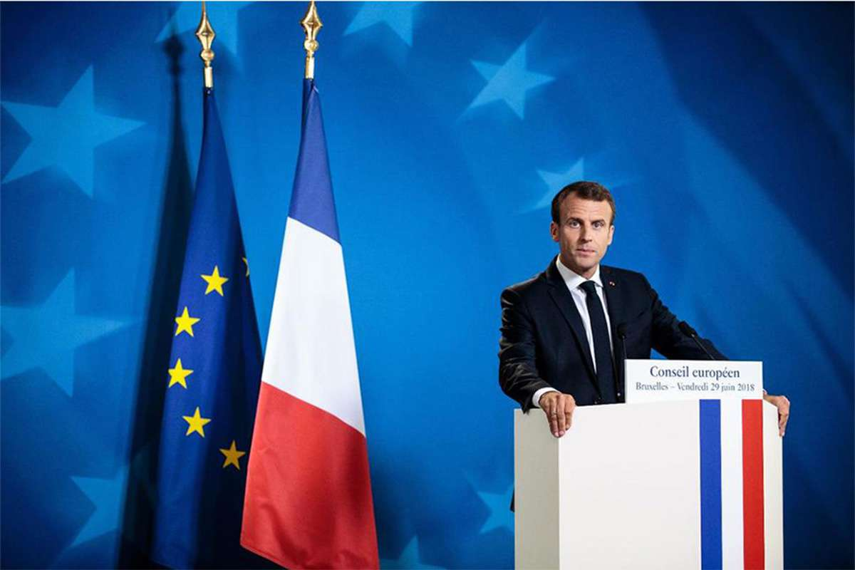 The French president is facing sinking popularity at home and skepticism across the continent over his plans to reform the EU