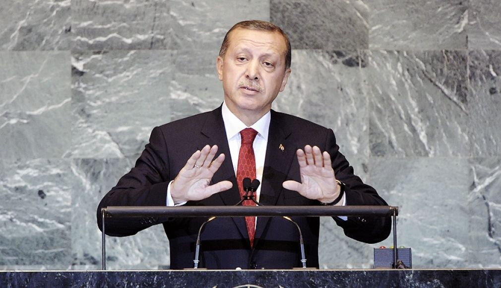 Turkish prime minister Recep Tayyip Erdogan said intercepted plane