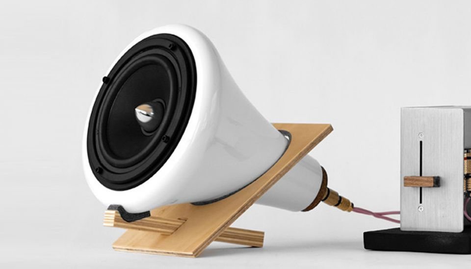 Joey Roth's Ceramic Speakers