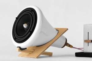 Joey Roth's Ceramic Speakers