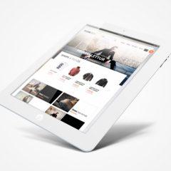 Mobile e-Commerce theme