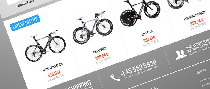 BikeStore - eCommerce Joomla! Template