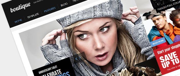 Boutique - eCommerce Joomla! Template