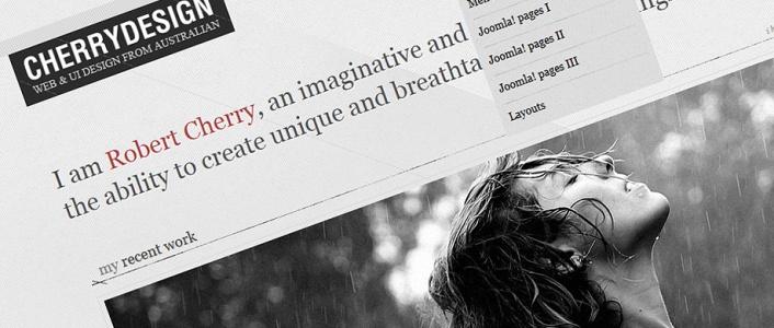 CherryDesign - Blog Joomla! Template