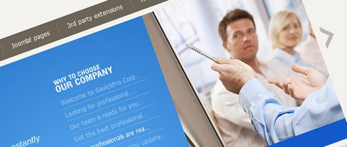 Corporate - Business Joomla! Template