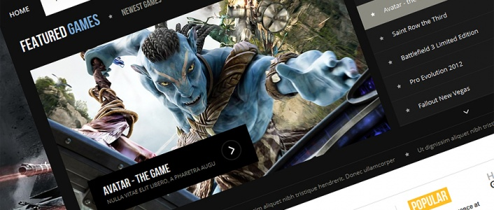 Game Magazine - Gaming Joomla! Template