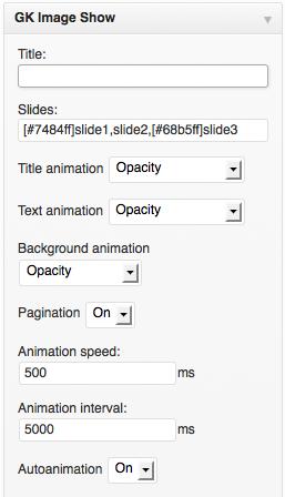 gk-imageshow-settings