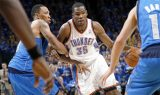 Kevin Durant has Oklahoma City Thunder-ing along at the top