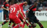 Benfica Striker Ola John has his mind on the clash with the Catalans